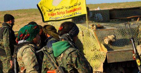 روانگەی سوری بۆ مافەکانی مرۆڤ: تورکیا و قەتەر دەیانەوێ وێنای شەرڤانان ناشرین بکەن دوای سەرکەوتنیان بەسەر داعش